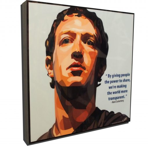 Mark Zuckerburg Poster