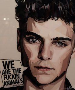 Martin Garrix poster EDM