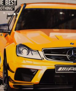 Mercedes AMG Poster