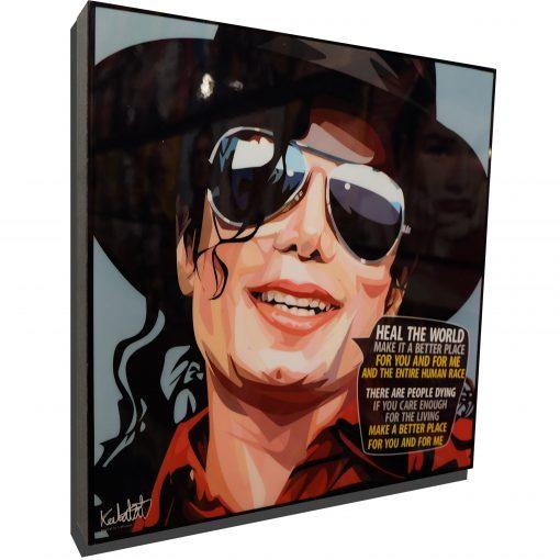 Michael Jackson heal the world poster