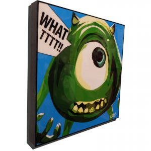 Mike Wazowski Monsters Inc Poster