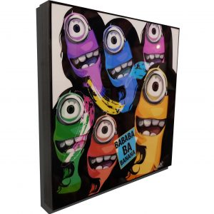 Abstract Minions Poster