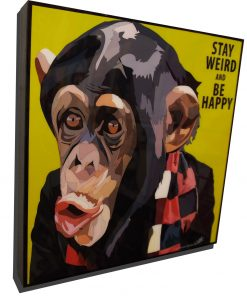 Monkey Poster Plaque
