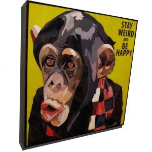 Monkey Poster Plaque