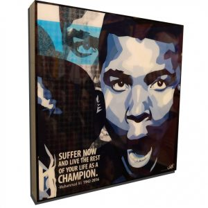 Muhammad Ali Tribute Poster