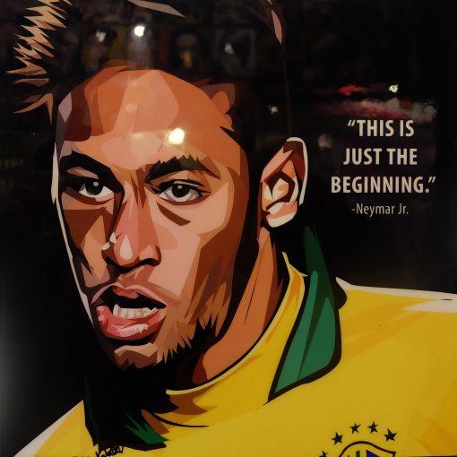 Neymar Jr Brazil Poster