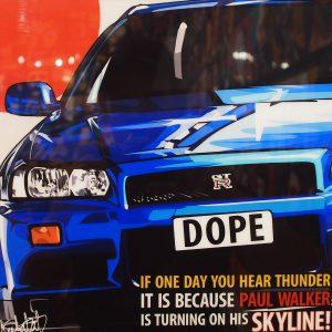 Nissan Skyline poster