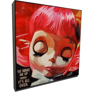 Pink Hair Blythe Poster Plaque