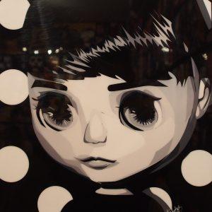 Polka Dot Blythe Poster Plaque