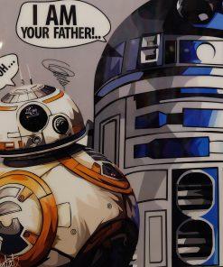 R2-D2 & BB-8 Poster