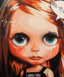 Red Hair Blythe Poster