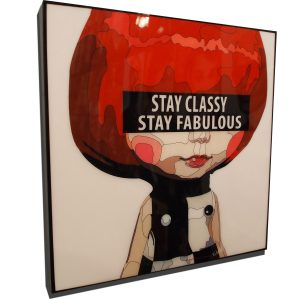 Red Haired Blythe Poster Plaque