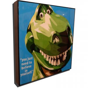 Rex Toy Story Poster