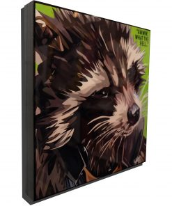 Rocket Raccoon Poster