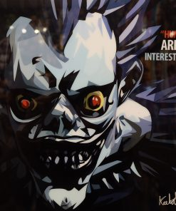 Ryuk Death Note Pop Art Poster Humans Are So Interesting