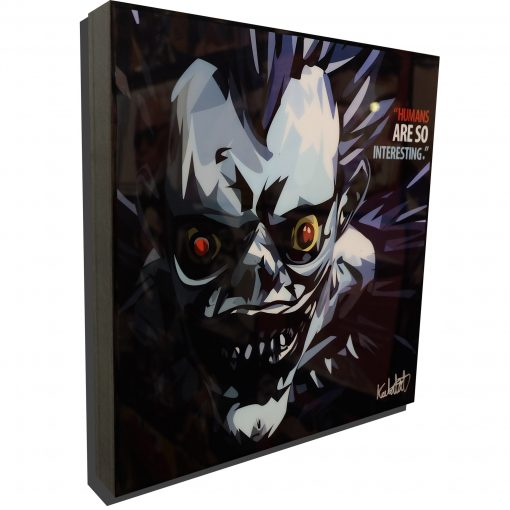 Ryuk Death Note Poster Plaque