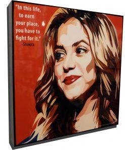Shakira Poster Plaque
