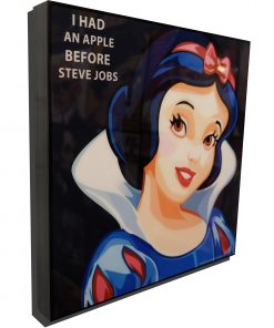 Snow White Poster Plaque