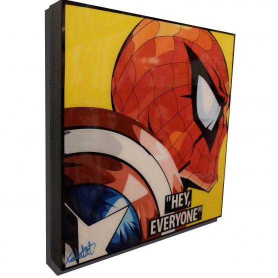 Spider Man Civil War Poster