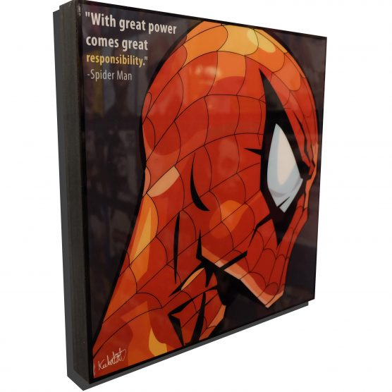 Spider Man Poster Plaque (2)
