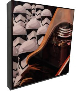 The Force Awakens Poster Plaque featuring Kylo Ren & Stormtroopers