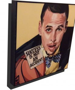 Steph Curry Poster Plaque