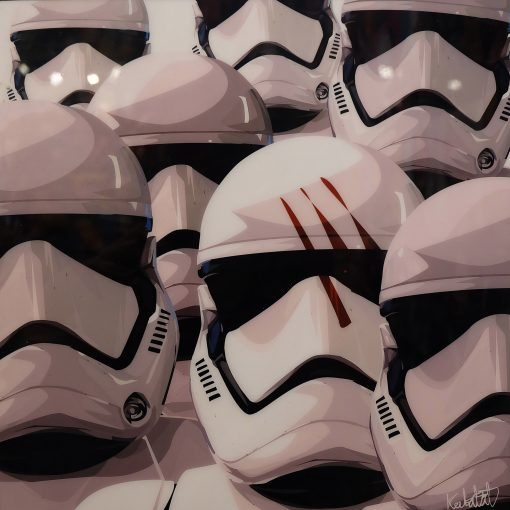 Stormtrooper Army Poster Plaque