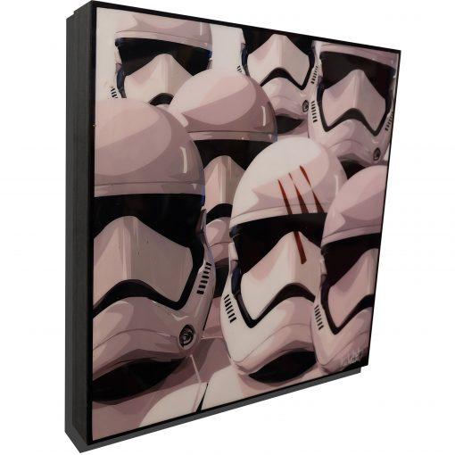 Stormtroopers Poster Plaque