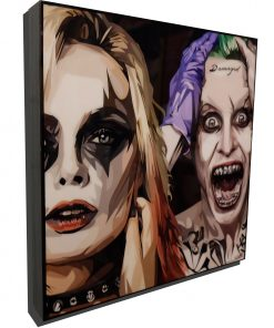 Suicide Squad Poster Plaque featuring Harley Quinn & The Joker