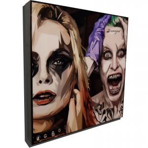 Suicide Squad Poster Plaque featuringHarley Quinn & The Joker