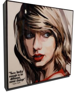 Taylor Swift Pop Art Poster Never Change