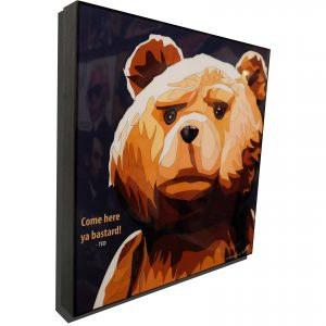 Ted Poster Plaque