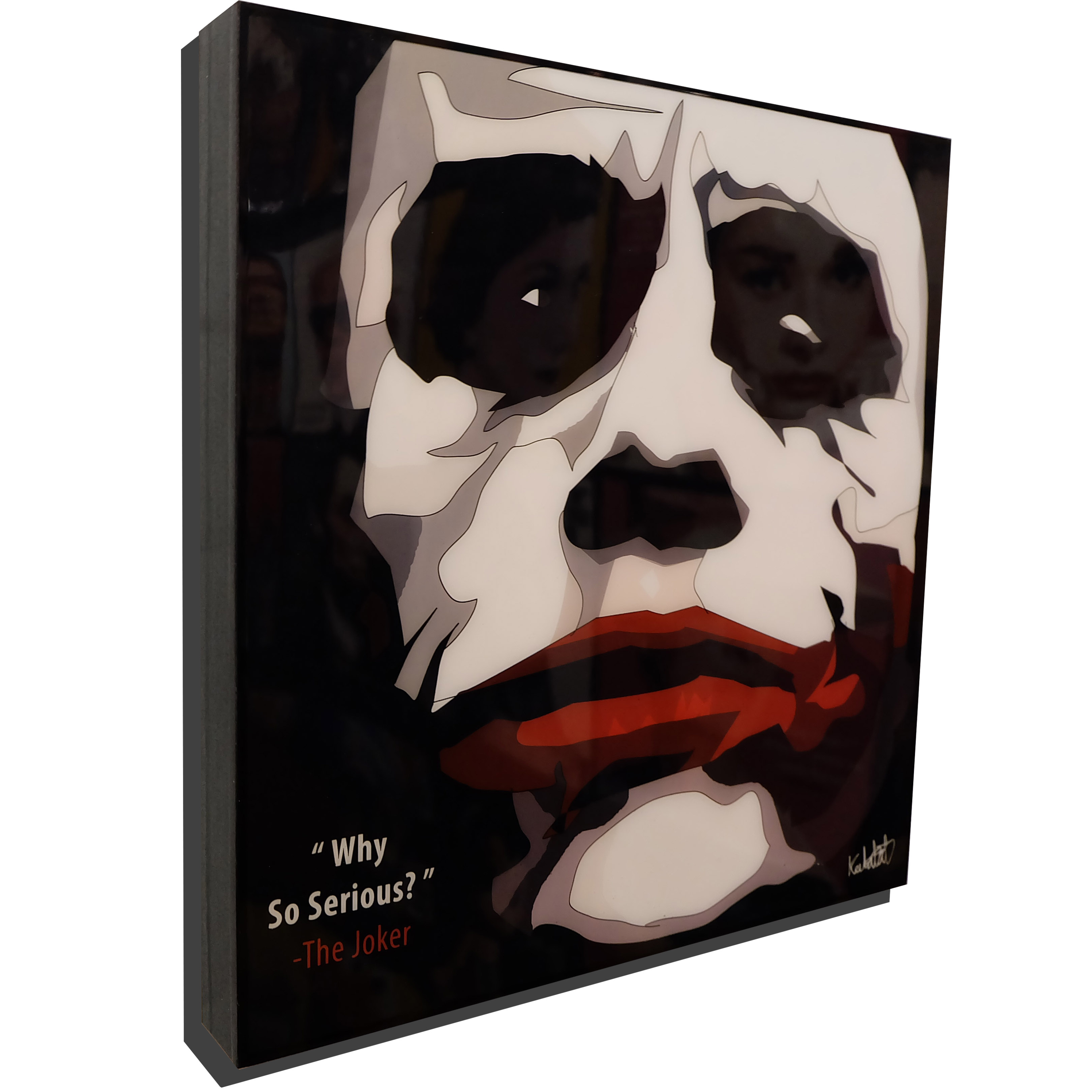 "The Joker Dark Knight Poster ""Why So Serious?"""
