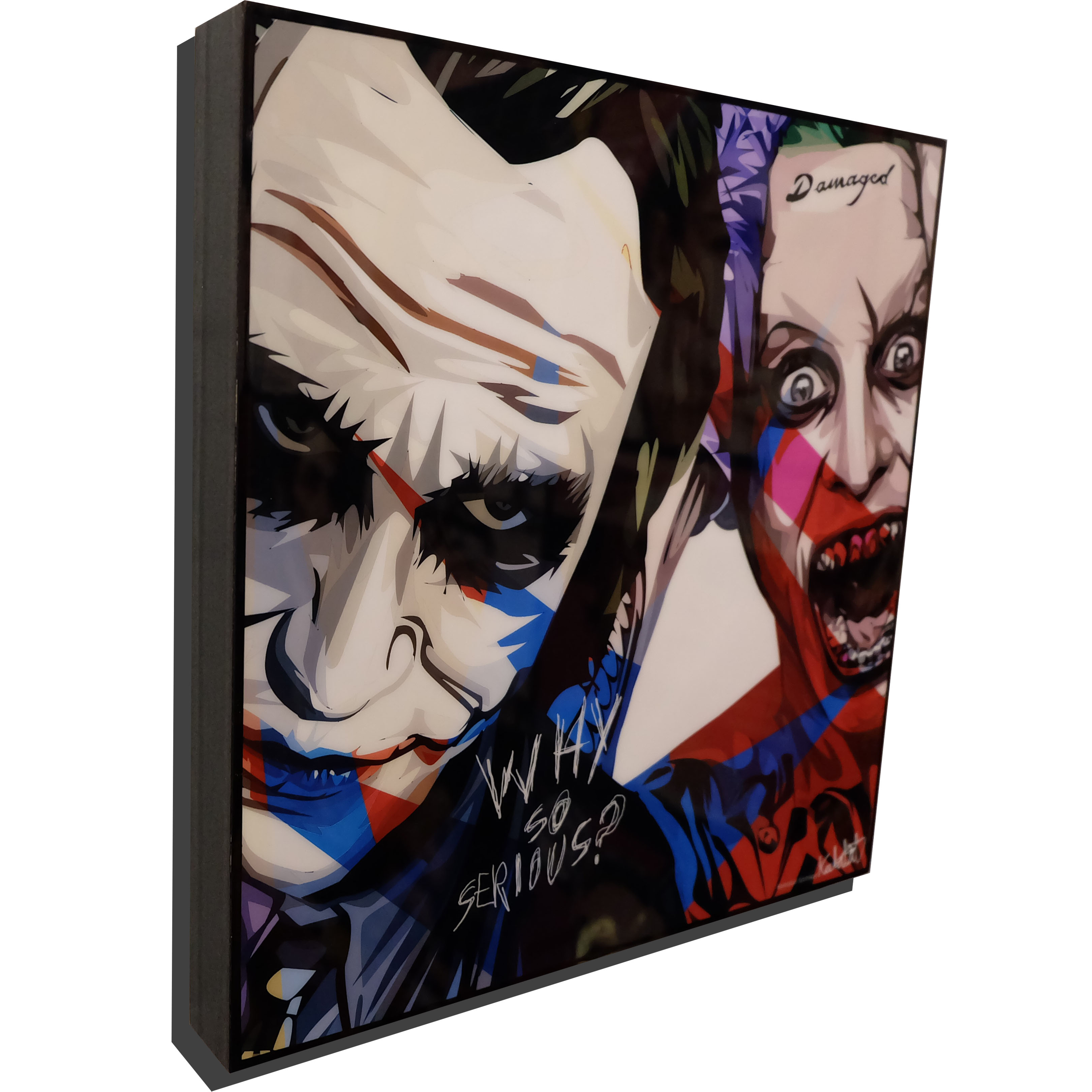 "The Jokers Pop Art Poster ""Why So Serious"""