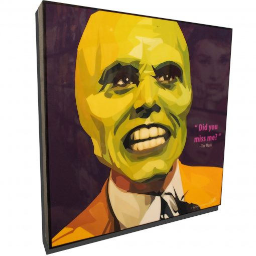 The Mask Poster Plaque