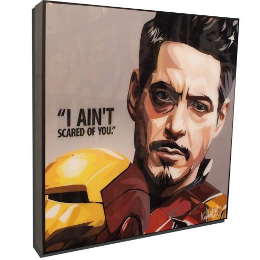 Tony Stark Civil War Poster I