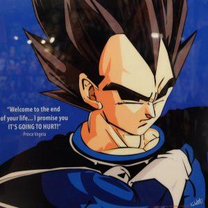 Vegeta poster Dragon Ball