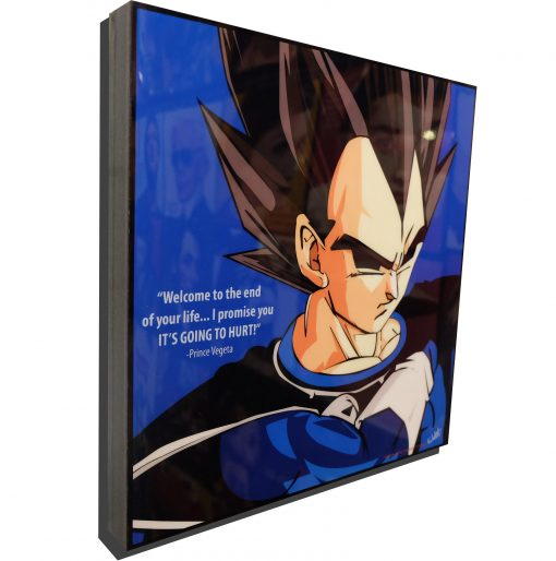 Vegeta Poster It's going to hurt