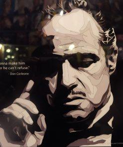 Vito Corleone poster