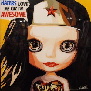 Wonder Woman Blythe Poster