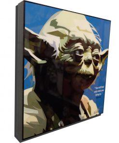 Yoda Poster Plaque