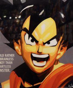 Young Goku Poster