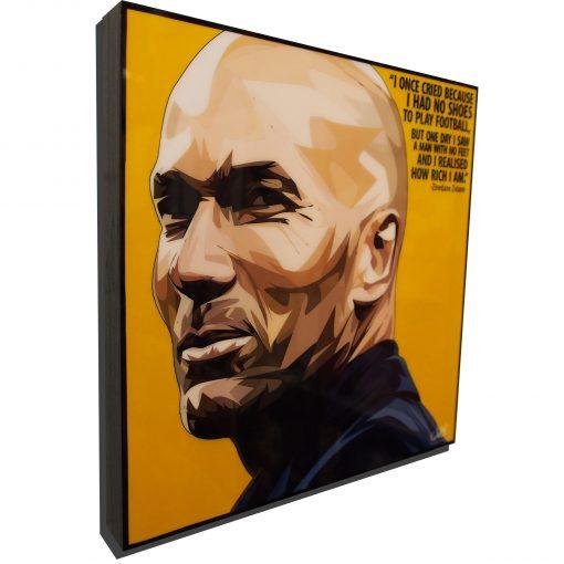 Zinedine Zidane Poster