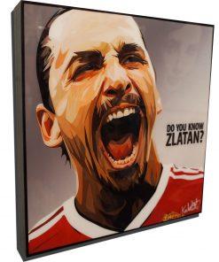 Zlatan Ibrahimović Manchester United Poster
