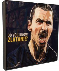 Zlatan Ibrahimovic Paris Saint Germain Poster