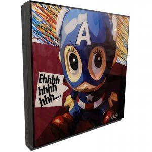 astro boy captain america poster