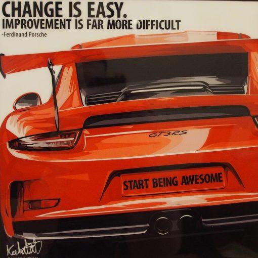 Porsche 911 GT3 RS Poster