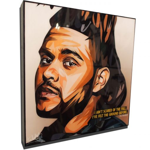 The Weeknd Poster Plaque