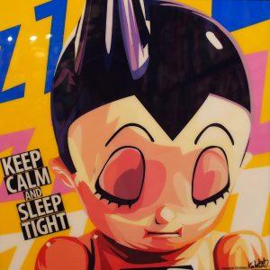Astroboy Poster Plaque