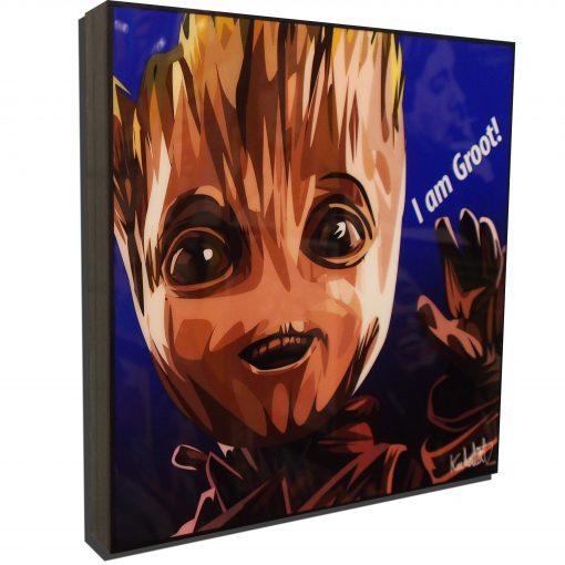 Baby Groot Poster Plaque